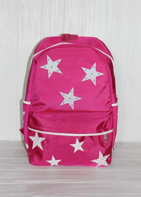 """Молодёжный практичный рюкзак с модным принтом """"звёзды"""""""