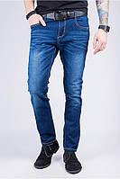 Джинсы мужские модные, потертые 374KG010