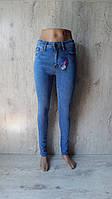 Женские синие джинсы Draga Американка