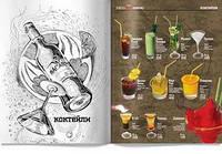Дизайн меню для бара
