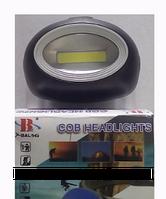 Налобный фонарик с светодиодом BL 2089 COB, фонарик на голову