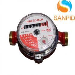 Лічильник гарячої води Hidrotech Ду 15 E-T 1,5 U