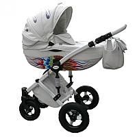 Универсальная детская коляска 2в1 Junama Peacock (ручная работа)