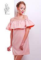 Платье с открытыми плечами Венди-1