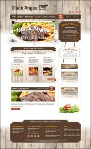 Дизайн меню сайту