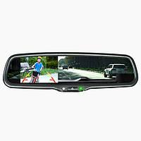 Штатное зеркало с монитором Prime-X 043/101 (на штатном креплении) с функцией автозатемнения