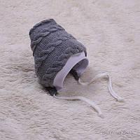 Весенняя шапочка для новорожденных Weave