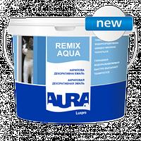 Aura Luxpro Remix Aqua 0,75л - Акриловая декоративная эмаль