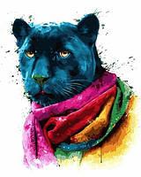 Картины по номерам 40×50 см. Пантера Художник Патрис Мурчиано