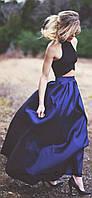 Женская юбка из атласа