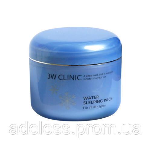 Интенсивно увлажняющая ночная маска для лица с гиалуроновой кислотой 3W Clinic Water Sleeping Pack