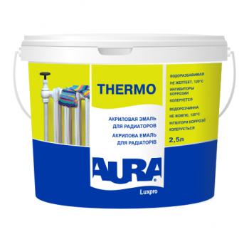Aura Luxpro Thermo 0,45л - Акриловая эмаль для радиаторов