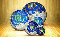 Футбольный мяч с нанесением логотипа