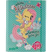 Папка картонная для труда на резинке KITE 2017 My Little Pony 213