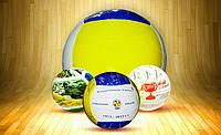 Волейбольный мяч с нанесением логотипа