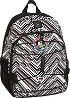 Рюкзак с отделением для ноутбука объем 20 л NATIONAL GEOGRAPHIC Explorer N01107;74 черно-белый принт