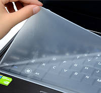 Защитная силиконовая пленка наклейка для клавиатуры ноутбука Keyboard Protective Film