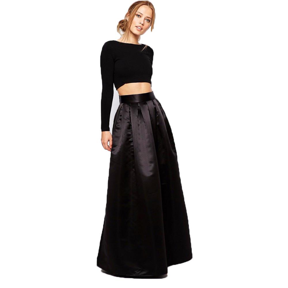 9142e68c031 Атласная юбка макси - RUSH STORE интернет-магазин женской одежды в Николаеве