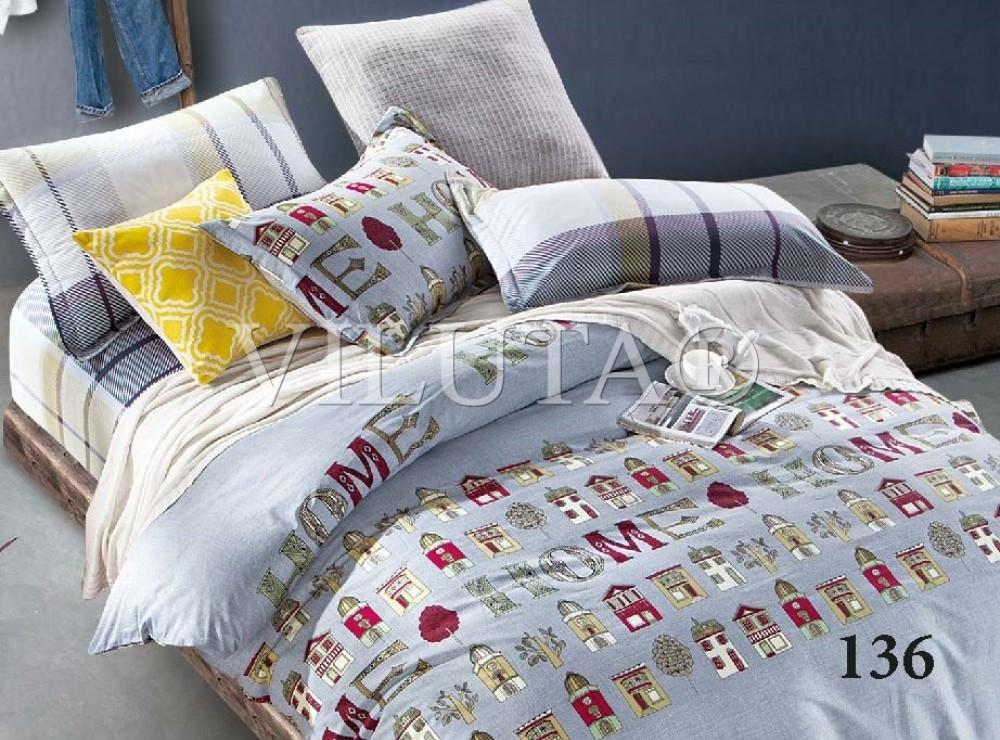 Комплект постельного белья Вилюта сатин подростковый полуторный 136