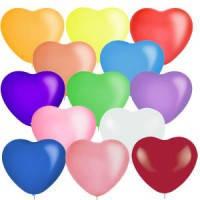 Шар с гелием в форме сердца