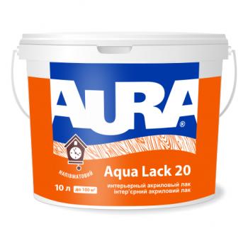 Aura Aqua Lack 20 1л- Интерьерный акриловый лак
