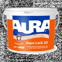 Aura Aqua Lack 20 10л  - Интерьерный акриловый лак, полуматовый