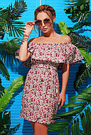 Платье с открытыми плечами Венди Коттон-2