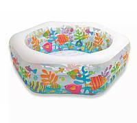 """Детский надувной бассейн """"Рыбки"""" Intex 56493"""