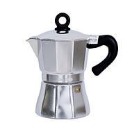 Гейзерная кофеварка 150 мл 3 порций Con Brio СВ-6503