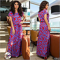 Нежное платье приталенного силуэта с пышными рукавами и фиксирующими резинками на плечах.