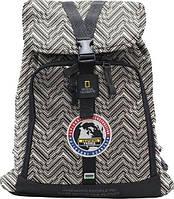 Отличный рюкзак объем 15 л NATIONAL GEOGRAPHIC N01119;74, черно-белый принт