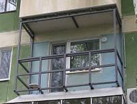 Расширение балконов под ключ