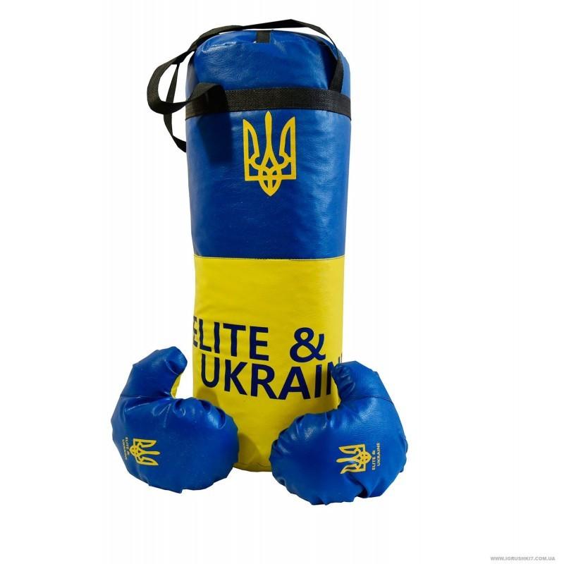 """Боксерский набор """"Ukraine символика"""" большой, 55*21см - Глобальные энергосберегающие технологии  в Днепре"""