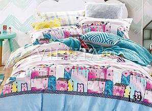 Комплект постельного белья Вилюта сатин подростковый полуторный 139