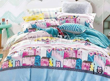 Комплект постельного белья Вилюта сатин подростковый полуторный 139, фото 2