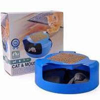 Игрушка, когтеточка для кошек Поймай мышку Cat Mouse Chase