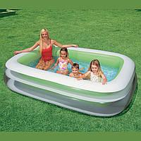 Детский надувной бассейн Семейный прямоугольный Intex 56483
