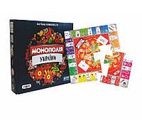 Настольная игра Монополия Украины LUX 7008 STRATEG