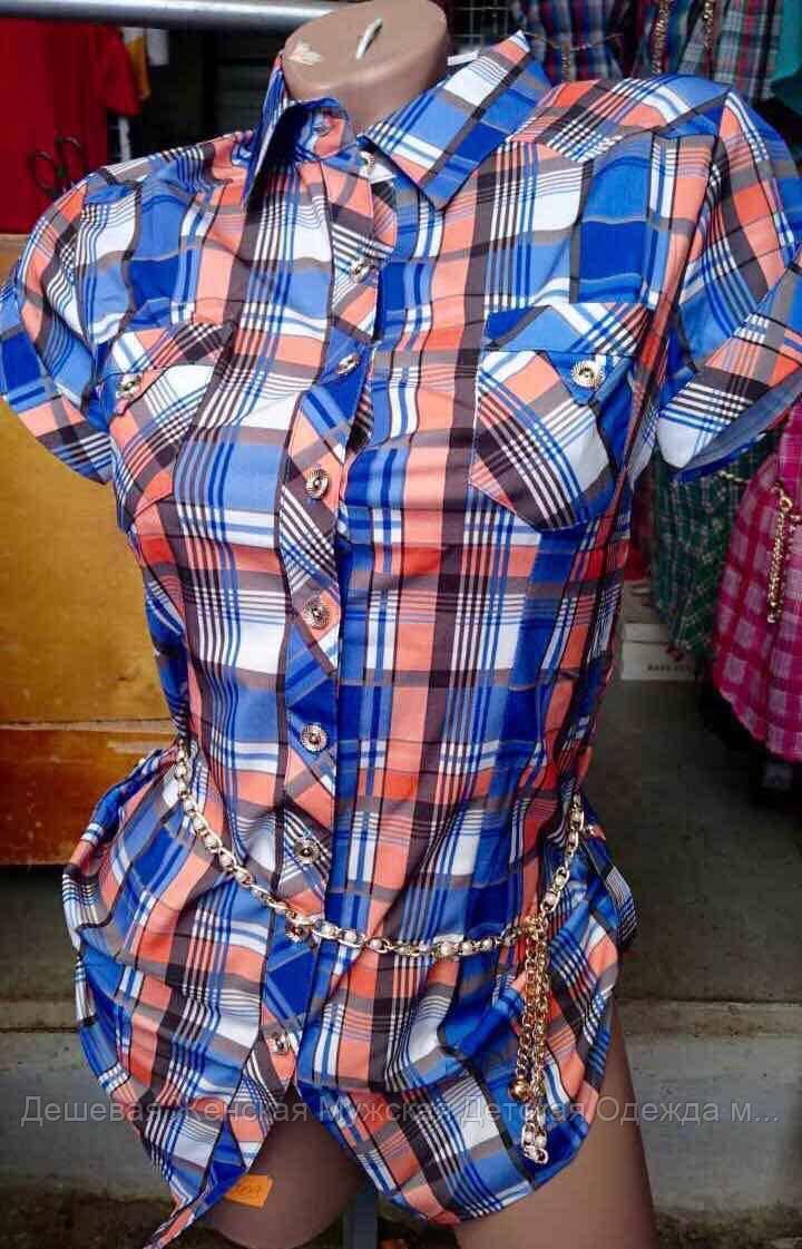 Женская рубашка лето оптом