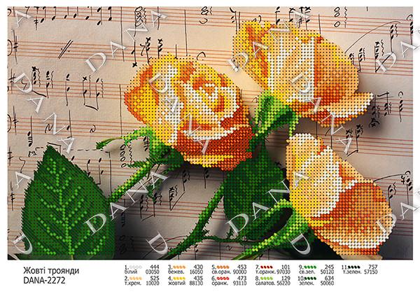 Жовті троянди