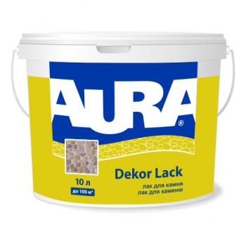 Aura Dekor Lack 10л - Фасадний лак для каменю