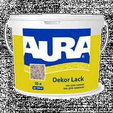 Aura Dekor Lack 10л - Фасадный лак для камня