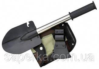 Складная лопата 7 в 1 (топор,молоток, лопата, пила, нож,открывашка,гвоздодер), фото 3