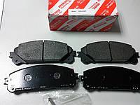Тормозные колодки передние (оригинал) на Toyota Highlander/Lexus RX
