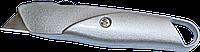 Нож металлический с выдвижным трапециевидным лезвием HTtools