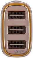 Зарядное устройство Momax Polar Light Series Trial USB Car Charger 4.4A Gold (UC5L)