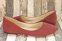 Женские кожаные балетки Viva