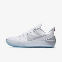 Баскетбольные кроссовки Nike Kobe AD White/Chrome, фото 1