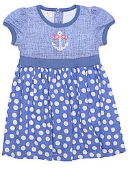 Стильное  платье для девочки Татошка р.98
