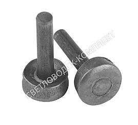 Набойка металлическая круглая на штыре (Светловодск)